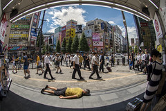 FDT-119 Using a new fisheye lens for the first time (- Cajón de sastre -) Tags: fdt fdtforlife facedowntuesdaygroup i♥facedowntuesday nikond500 fisheyenikkor105mmƒ28ged creativephotography akihabara japan japón week312017 52weeksthe2017edition weekstartingsundayjuly302017 week31theme