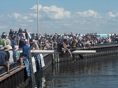 Islendingadunk! (canadianlookin) Tags: islendingadunk competition water battle icelandicfestival gimli august 2017