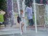 Water Dance (FleetingEye) Tags: usa vicksburg color street water city cityscape boy streetscape summer 2017 fountain swim park kids mississippi play dance dof fleetingeyephotography