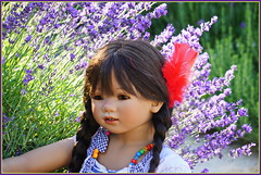 Setina ... (Kindergartenkinder) Tags: sommer blumen personen grugapark essen kindergartenkinder garten blume park annette himstedt dolls setina