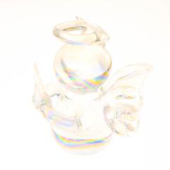 High Key Angel... (Benny aka WortLichtMaler) Tags: makromacrohmmhappymondaymft30mm3 5olympusgx7panasonic makro macro macromondays macromonday makroaufnahme nahaufnahme closeup close glass glas angel present mft panasonic olympus 30mm macklight rainbow colors high key hi