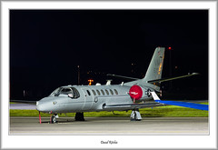 166767 USAF UC35D At Glasgow (flatfoot471) Tags: 2017 560citation aircraft airport cessna glasgowairport military night normal renfrew renfrewshire scotland uc35d unitedkingdom unitedstatesairforce gbr