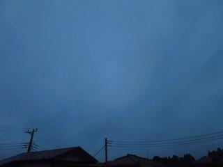 おはようございます。 朝 Morning 曇り 肌寒い Cloud - Sky おはよう Canon S120