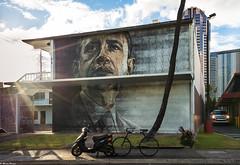 """Hapa"" (dinero57) Tags: obama barack president building painting muralpaintings art dinero57 sonyalpha sonyphotography sonyzeiss zeiss sonya7rii variotessartfe41635"