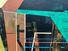 Jim Harris: Nightfall on the Baron Van Swieten Research Center New Northern Territories. (Jim Harris: Artist.) Tags: art arte mozart muzik muzak architecture avantgarde painting lartabstrait kunst malerei landscape