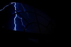 Home - Lightning Struck my Neighbor's House (Cameron McGhie) Tags: lightning lightningphotography closelightning hitbylightning monsoon blue darkblue bluelightning nikond5300 nikon photooftheday az arizona arizonaphotographer cameronmcghie new 2017 nightphoto midnight night fun bright struck window windows affinity affinityphoto 1855mm 18mm 18to55mm 1855 100iso