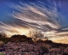Monolithic Gardens (cindyslater) Tags: monolithicgardens arizona sunrise weather cloads kingmanarizona az usa landscape cindyslater