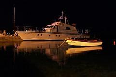 Karlobag (mdunisk) Tags: karlobag kotari mdunisk manjavas stojdraga pag tatinje more ljeto noć refleksija brod čamac barka riva luka