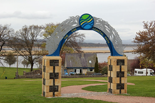 The Fife Coastal Path in Newburgh
