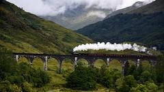 Glenfinnan Viaduct (andrewmckie) Tags: glenfinnan scotland lochaber scenery outdoor landscape scottishscenery viaduct railway steamtrain jacobite harrypotter