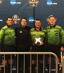"Jeffrey Skinker (far right) on NCAA D1 Semi-Final Crew @ BBVA Compass Stadium 12/9/16 • <a style=""font-size:0.8em;"" href=""http://www.flickr.com/photos/91858439@N05/36084513164/"" target=""_blank"">View on Flickr</a>"