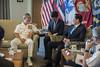Korean Minister of National Defense Meets with PACOM Commander in Hawaii (#PACOM) Tags: pacom uspacom indoasianpacific navy republicofkorea rok alliance koreanpeninsula camphmsmith hawaii unitedstates usa