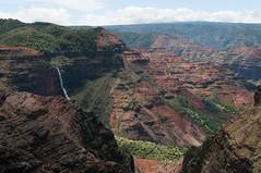 Waimea Canyon (_quintin_) Tags: waimea canyon hawaii kauai waterfall landscape