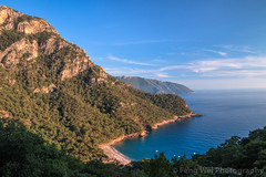 Dusk @ Kabak Beach, Fethiye, Muğla, Turkey (Feng Wei Photography) Tags: traveldestinations fethyie eastasia mediterraneansea turquoisecoast dusk mediterraneanturkey tranquilscene beautiful travel secluded relaxation outdoors horizontal lycia muglaprovince highangleview scenics colorimage sea coast idyllic remote beautyinnature kalabantia peaceful cliff gettingawayfromitall beach turquoisecolored turkishculture tourism turkeymiddleeast turkish fethiye muğla turkey tr