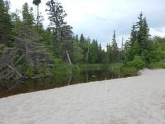 Creek draining into Lake Winnipeg (wonder_al) Tags: lakewinnipeg campmortonprovincialpark campmorton gimli