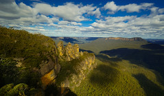 III sisters (Elvir72) Tags: mountains nex6 bluemountains landscape nsw australia 3sisters travel three sisters blue panorama