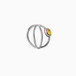 Planet Amber Ring thumbnail