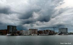 IJburg, 9-9-2017 (kees.stoof) Tags: ijburg amsterdam clouds wolken onweer