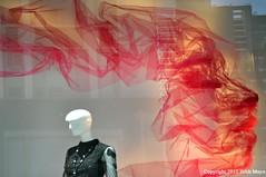 Seeing Through The Material (Trish Mayo) Tags: mannequin bergdorfgoodman bergdorfs benjamineshine art installation storewindows
