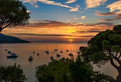 Magic hour (marypink) Tags: isoladelba golfodelviticcio sunset tramonto summer boats sea sky estate nikond800 nikkor1635mmf40