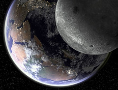 Earth's Eclipse (GEORGE TSIMTSIMIS) Tags: earth moon eclipse planetarysystem astronomy perspectiveofview