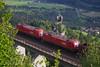 1116 134 + 1116 173, Falkensteinbrücke (CS:BG Photography) Tags: öbb railcargoaustria österreichischebundesbahnen oberfalkenstein falkensteinbrücke eurosprinter tauernbahn class1116 taurus rh1116 1116173 sensi 1116134 es64u2 schlossniederfalkenstein