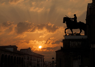 Sonnenaufgang in Padua / Italien