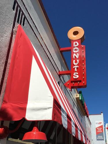 Velvet Creme Doughnut Sign Little Havana