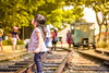 Discovery (Gisele Yuen) Tags: ボケ boken portrait kid girl child baby lovely hk train rail cute sweet adorable absolutelyperrrfect