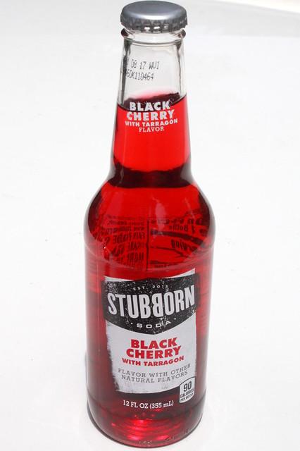 Stubborn Soda Black Cherry with Tarragon
