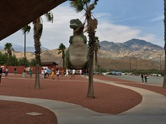 IMG_0345 (vxla) Tags: 2017 2010s vxla california travel summer september westcoast iphone losangeles cabazondinosaurs claudebellsdinosaurs riversidecounty dinosaur park palmsprings statue sculpture