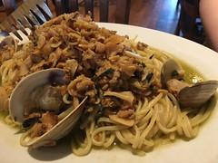 Butera's in Sayville NY (Vernon Brad Bell) Tags: clams pasta seafood food italian longisland sayville