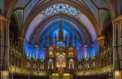 Altar de la Basílica de Notre Dame (José M. Arboleda) Tags: arquitectura edificio iglesia basílica plaza notredame montreal canada canon eos 5d markii ef24105mmf4lisusm jose arboleda josémarboleda