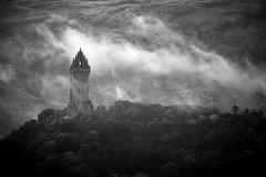 Misty Wallace Monument (GlasgowPhotoMan) Tags: stirlingshire stirling stirlingcastle wallacemonument nationalwallacemonument abbeycrag cambuskennethabbey johnthomasrochead williamwallace battleofstirlingbridge kingedwardi concordians
