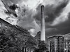 The Cotton Mills of Lowell (Tim Ravenscroft) Tags: chimney mills cotton lowell sky monochrome blackandwhite blackwhite hasselblad hasselbladx1d x1d