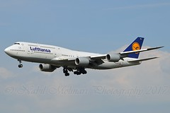 """Bayern"" Lufthansa D-ABYM Boeing 747-830 cn/37837-1494 @ EDDF / FRA 18-09-2016 (Nabil Molinari Photography) Tags: bayern lufthansa dabym boeing 747830 cn378371494 eddf fra 18092016"