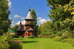 Chapel of Last Testament Church, Gulyayevka Village, Siberia, Russia (Fedor Odegov) Tags: chapel church vissarion community gulyayevka village last testament siberia russia summer religion гуляевка виссарион часовня