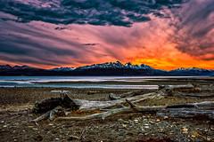 Sunset Tierra Del Fuego (Valter Patrial) Tags: sunrise sunset horizon sundown dawn patagonia golden hour moorland sunet first light surise assynt falaises ushuaia santacruzprovince tierradelfuego argentina ar inexplore