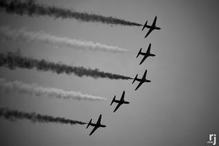 Saudi Hawks, Air Show, Independence Day, Pakistan