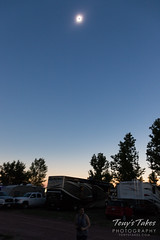 The darkness at totality