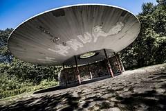 Oculus Humber (rick miller foto) Tags: publicart biketrail ravine canada humberriver toronto alancrossley oculus