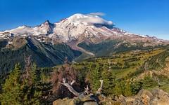 Mountain Majesty (Philip Kuntz) Tags: mtrainier mtrainiernationalpark volcano stratovolcano mostglaciersintheus tahoma degepeak cascaderange washington