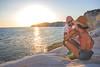 Loving Sunset - Scala dei turchi (Flavia-cyb) Tags: sun sunset tramonto couple love scaladeiturchi agrigento sicilia brindisi life sea white rocks canon canon60d landscape