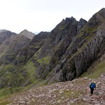 Approaching Sgurr Fiona with Toll an Lochain down below thumbnail