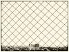 Protective net in the Eiffel (max tuguese) Tags: eiffel tower black white bianco nero blanc noir noiretblanc schwarz weis france maxtuguese fuji landscape cityscape monochrome urban town city net digital protective view