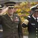 CJCS and Admiral Haakon Bruun-Hanssen, Norwegian Chief of Defence inspect Norwegian Honor Guard