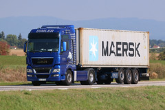 MAN TGX 18.540 / Dimler Transporte (karl.goessmann) Tags: man tgx18540 dimler mühlhausenopf truck