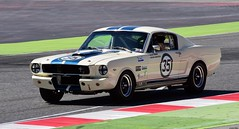 Shelby American Ford Mustang GT350 / Kevin Hancock / GBR / Leigh Smart / GBR (Renzopaso) Tags: shelby american ford mustang gt350 kevin hancock gbr leigh smart espíritu de montjuïc 2017 circuit barcelona circuitdebarcelona espíritudemontjuïc2017 espíritudemontjuïc racing race motor motorsport photo picture car auto racecar classic historic clasico historico fordmustanggt350 shelbyamerican fordmustang kevinhancock leighsmart sport