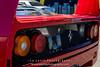 Red-Ferrari-F40-sports-car-in-sydney-by-la-lente-photography-rear-grille (Paul D'Ambra - Australia) Tags: car red ferrari sportscar redsportscar redferrari vehicle motorvehicle redf40