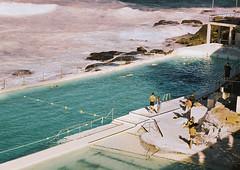 Bondi Beach on #35mm film. (georgie pics) Tags: filmphotographer filmphotography 35mmfilm vintagefilm film social people happy beachesinaustralia australianbeaches australia green sun warm summer swimming swim blue vintage nikon tumblr icebergs bondiicebergs 35mm